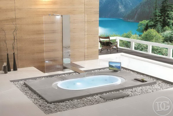 Japan style in bath designing