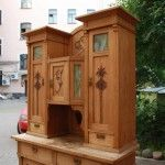 Wooden cupboard in Modern style