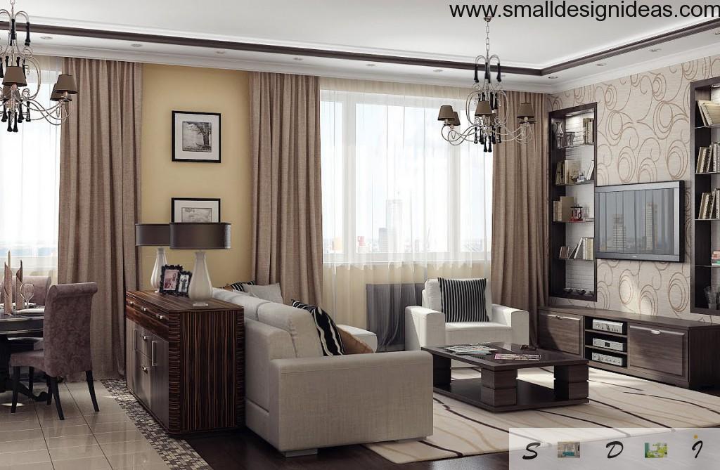 Modern trends of living room 2015