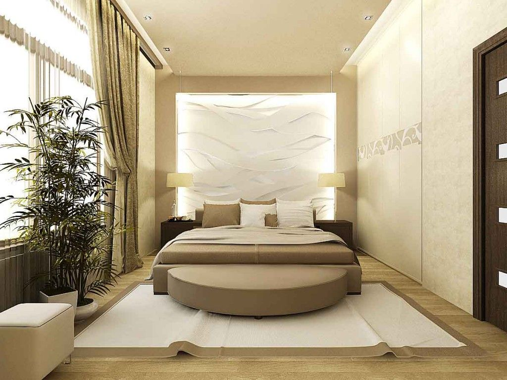 leading role in the design of the bedroom still plays bed it attracts