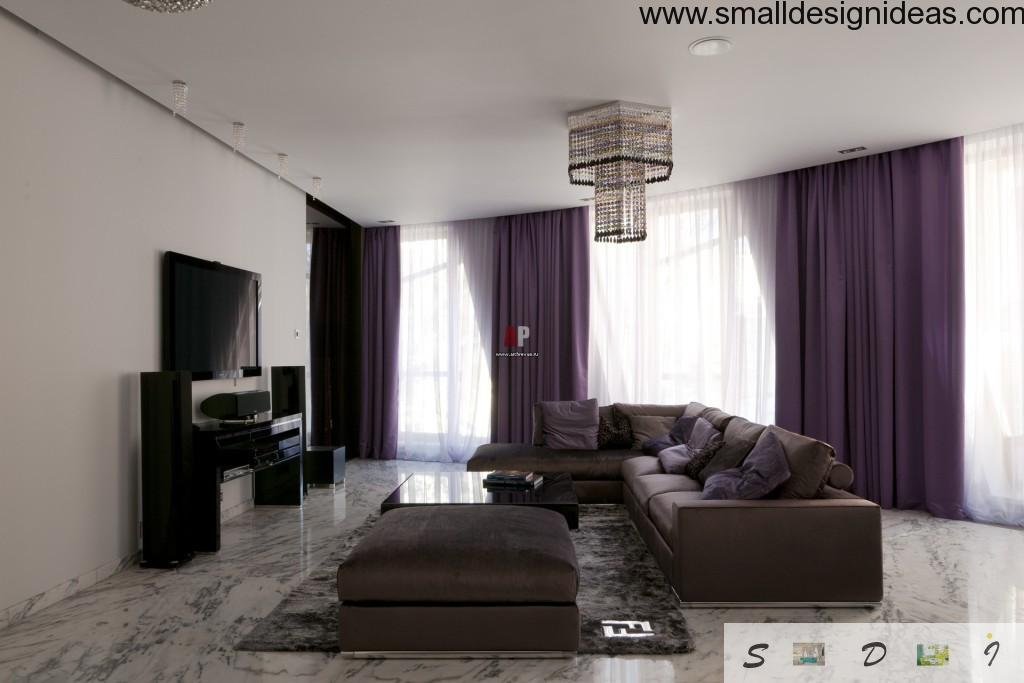 Black upholstery master living design