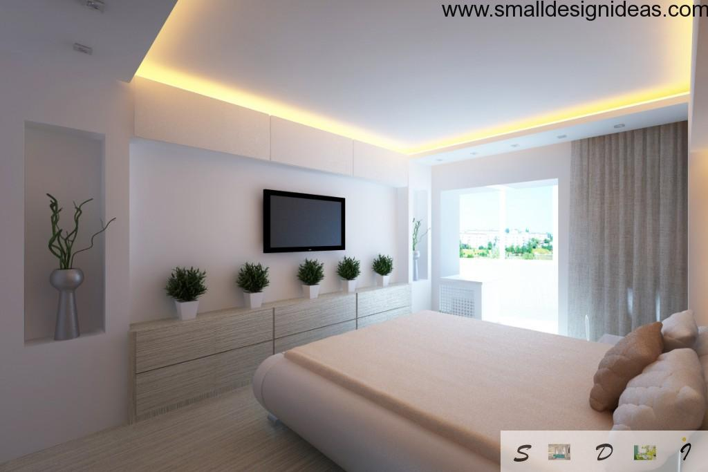 Plain but effective and modern bedroom design