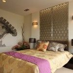 Lamps in a bedroom for comfort