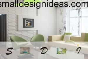 Correct lines and discreet colors in interior design philosophy