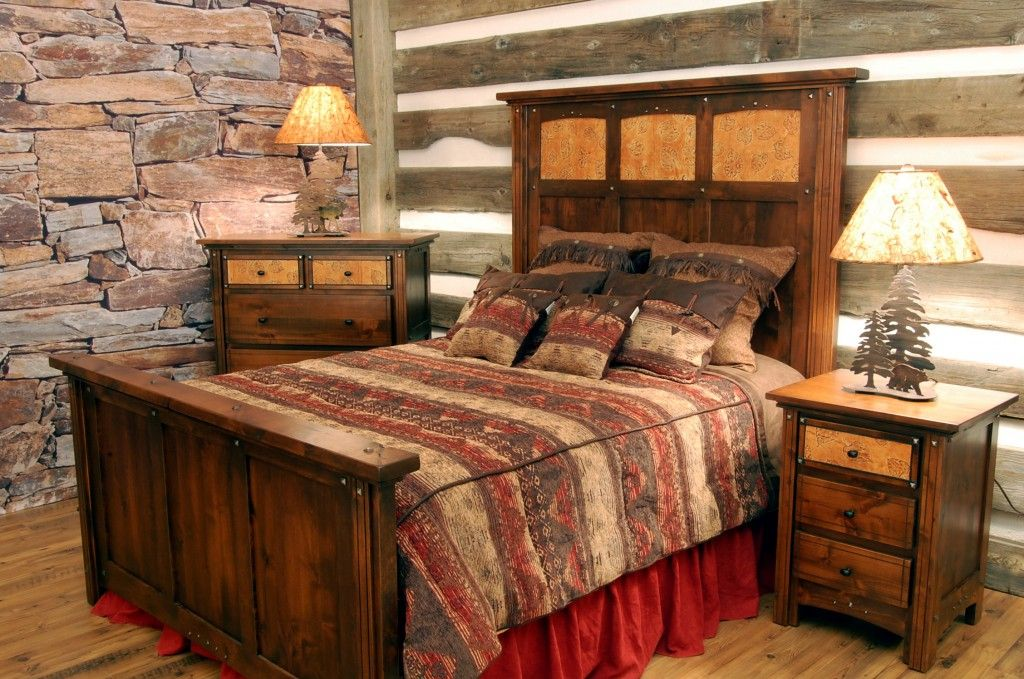 Bold Country Style Bedroom Design