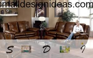 modern and classic leather furniture in one