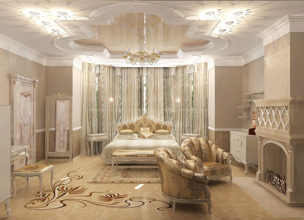 Art Nouveau Interior Style Light Effective Modern Design With Glossy Metal Incuts