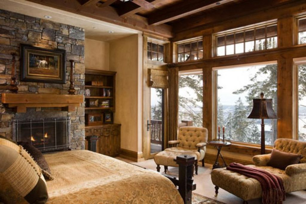 Bold country style bedroom design for Most popular decorating blogs