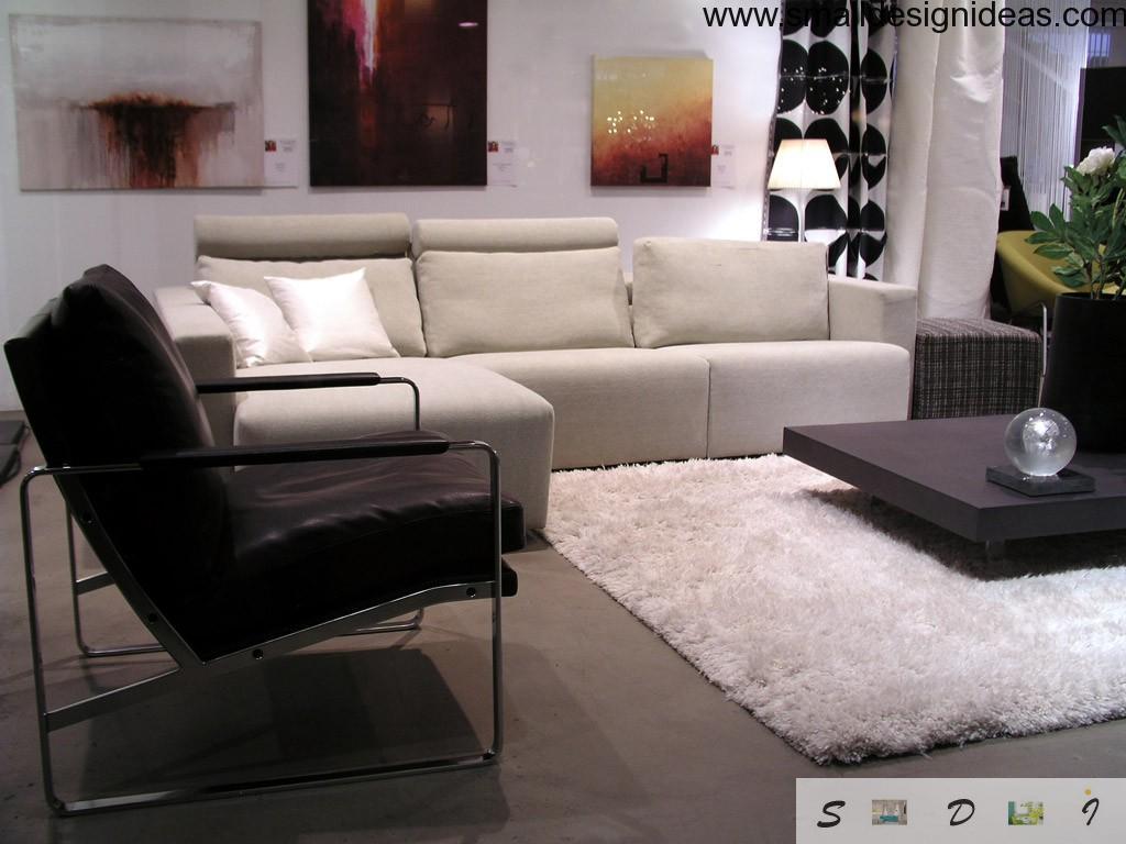 Carpet flooring in the lounge