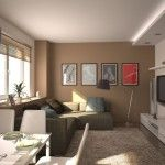 Pictures and plasterboard as a design know how