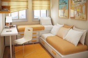 Experimental small studio apartment design ideas