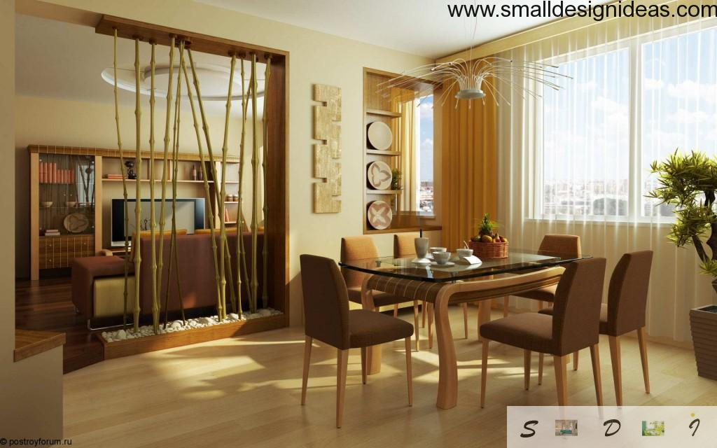 Eco design in modern dining room