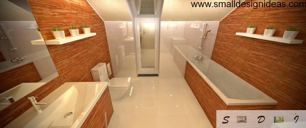 New wooden trend in bathtub design