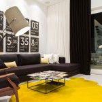 Bright minimalistic design of the hall