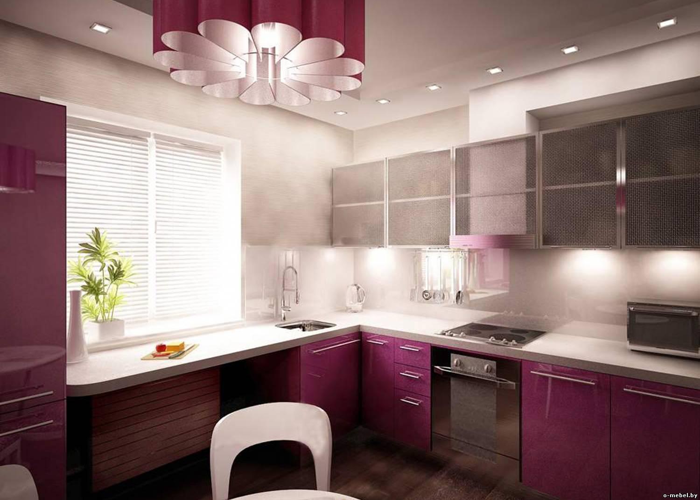 L-shaped Kitchen Design on