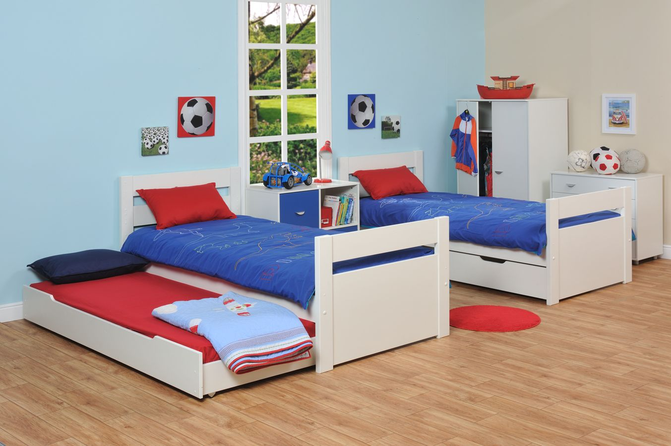 Bed with drawers modern design for Stylish children s furniture