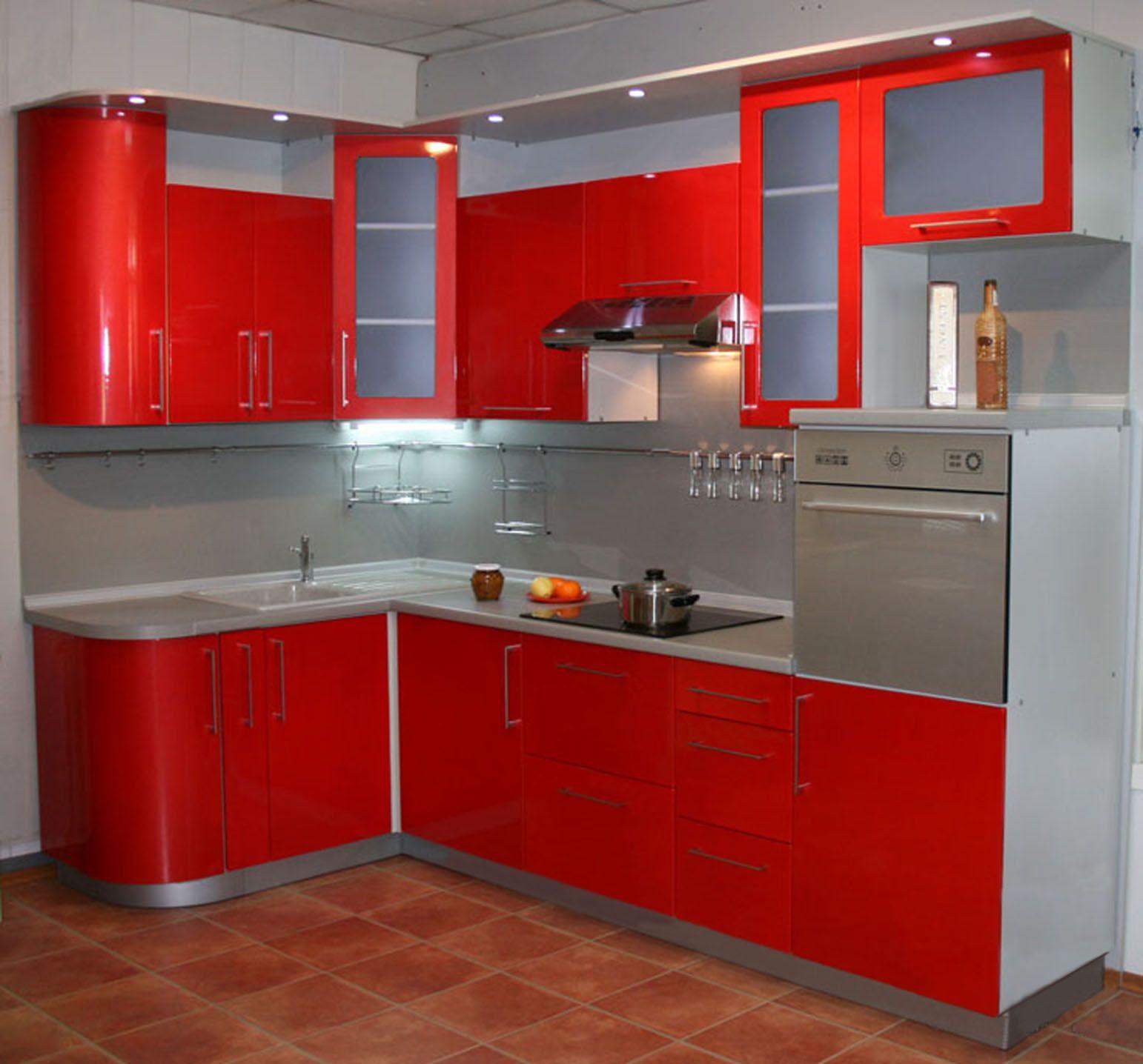Кухонный гарнитур угловой дизайн