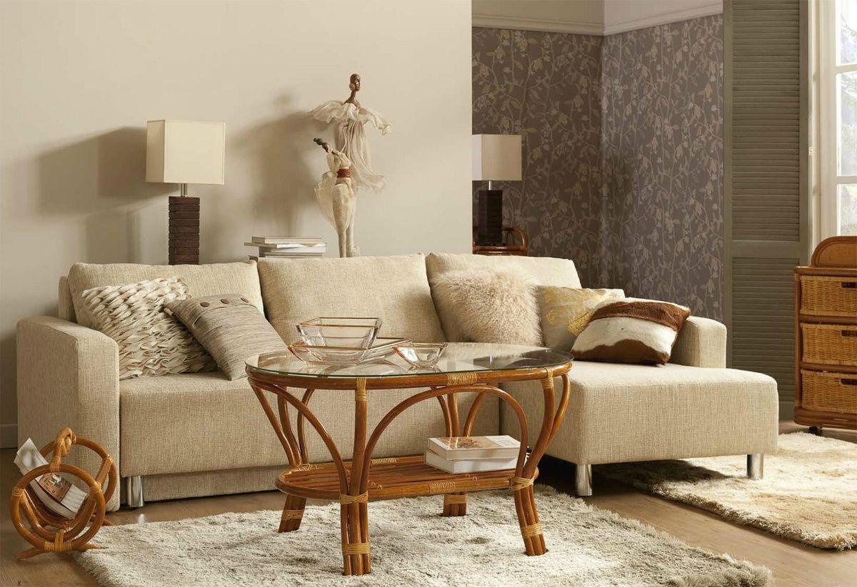Wicker Furniture In Modern Interior