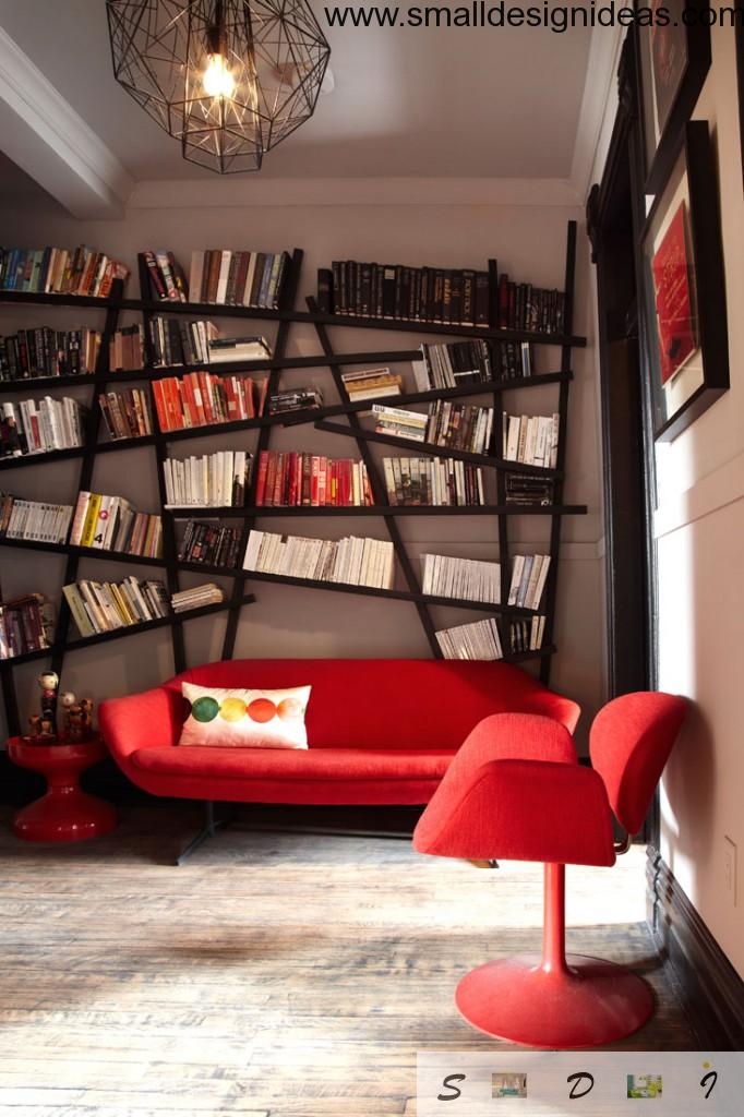 Modern style design in the home office