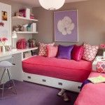 Children room universal beds for two kids