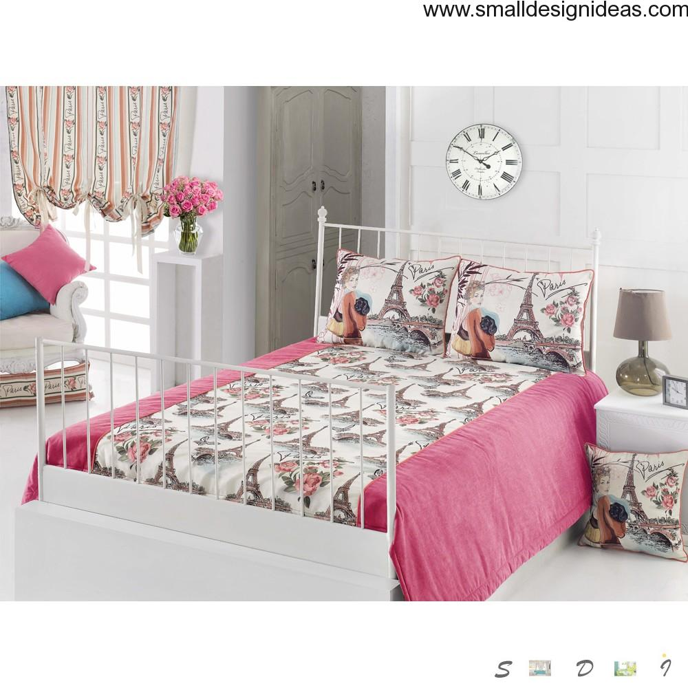 French dynamic modern style of the bedroom design