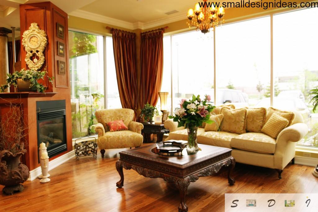 Classic English style interior living room