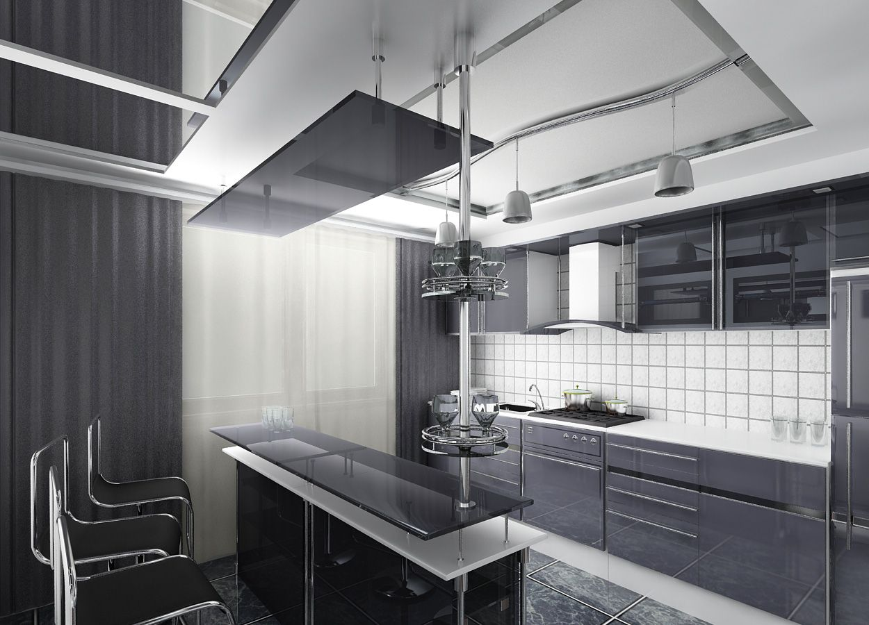 Hi Tech Interior Style Overview Small Design Ideas