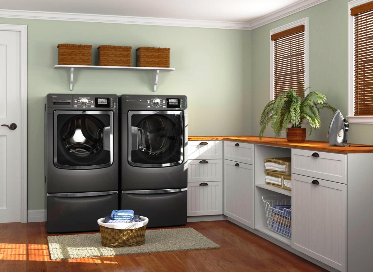 Laundry Room Interior Main Decoration Features