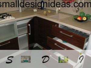 Abilities of contemporary kitchen furniture can amaze with its multifunctionality