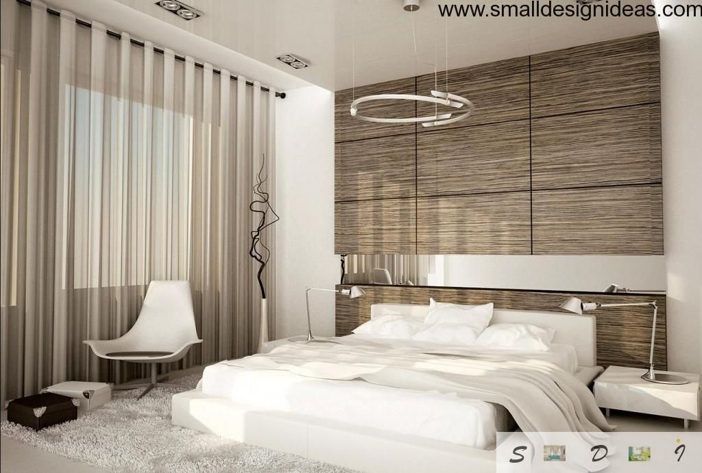White and Gray bedroom design style