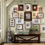 English Interior Design Style photo wall