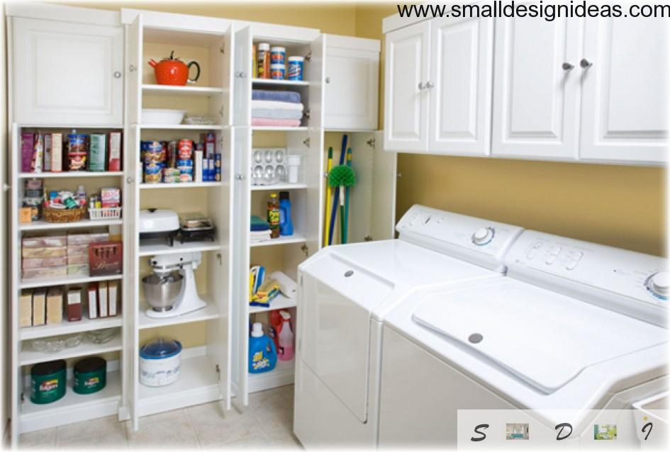Amusing Lowes Laundry Room Storage Cabinets Deluxe Laundry  Room Design Modern Cabinetry Hanging Collection Storage Ideas 945×638