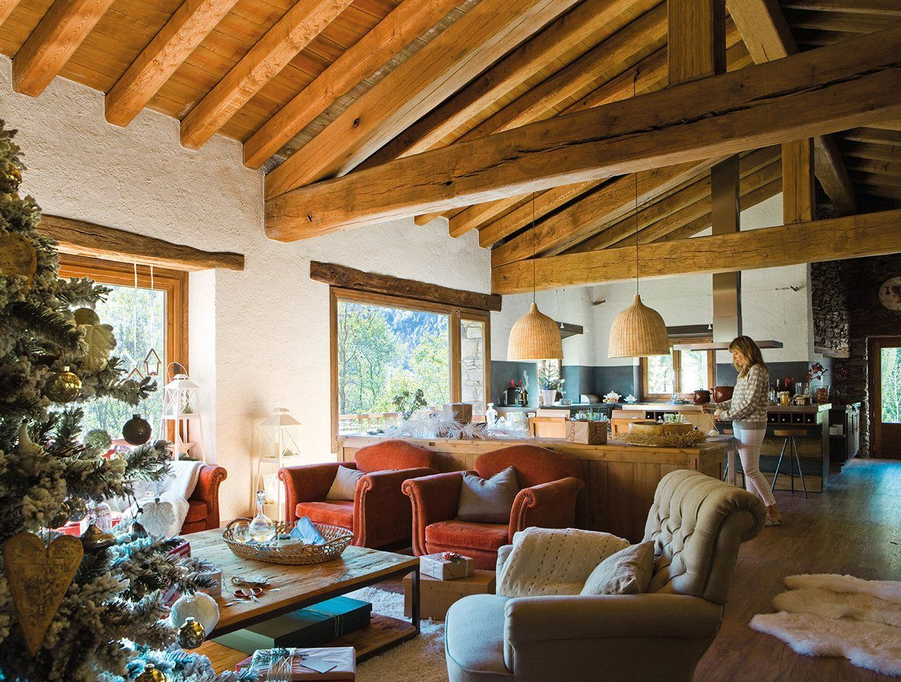 Country house living room design ideas - Muebles con encanto ...
