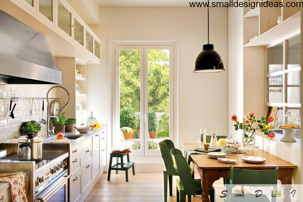 Small Tips For Tiny Kitchen. Scandinavian style in the interior