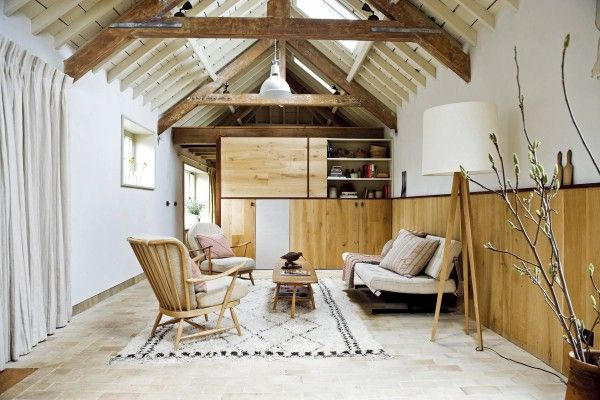 Wooden trimis one of the essential features of Scandinavian Style in the house
