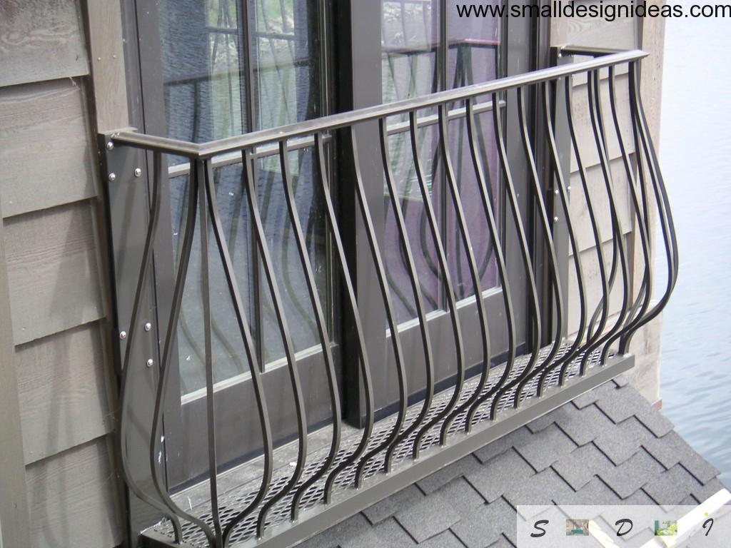 French type of a balcony