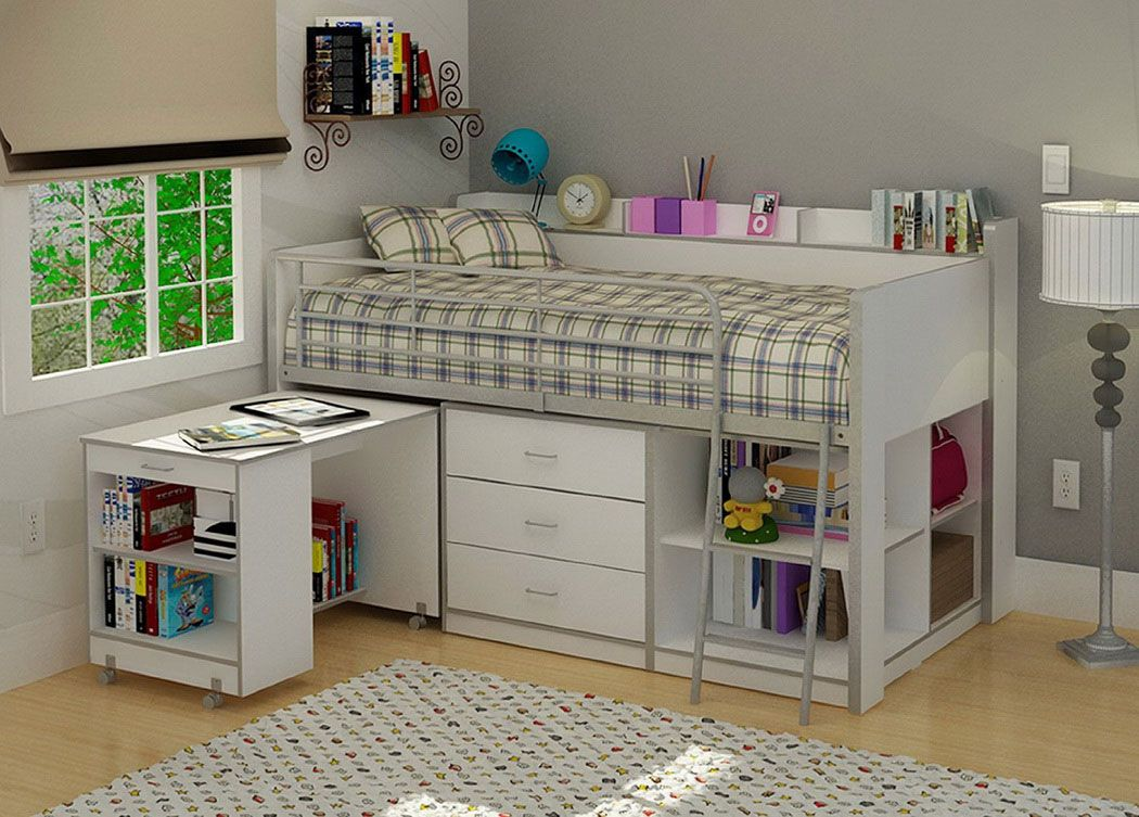 range white trundle drawer brand spot with and in kids bed drawers tipi teepee vox frame