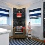 Marine Style Interior Design modest kids room in nautic decorations