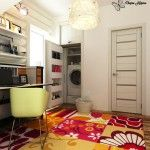 Laundry Room Interior. Main Decoration Features in your home study room