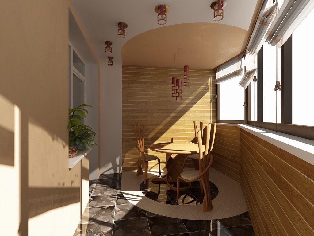 Loggias Balconies Terraces Interior Design