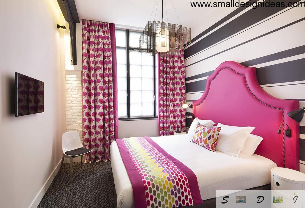 Raspberry Joyful bedroom decoration