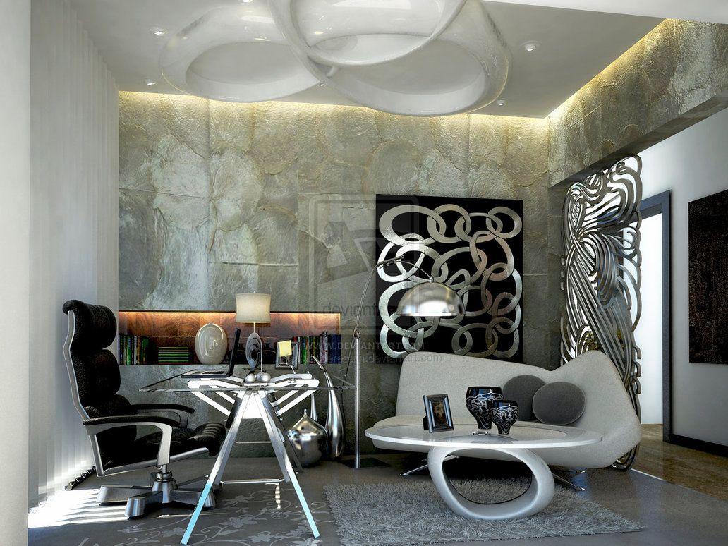 Study room fresh design ideas art nouveau for Art nouveau decorating ideas