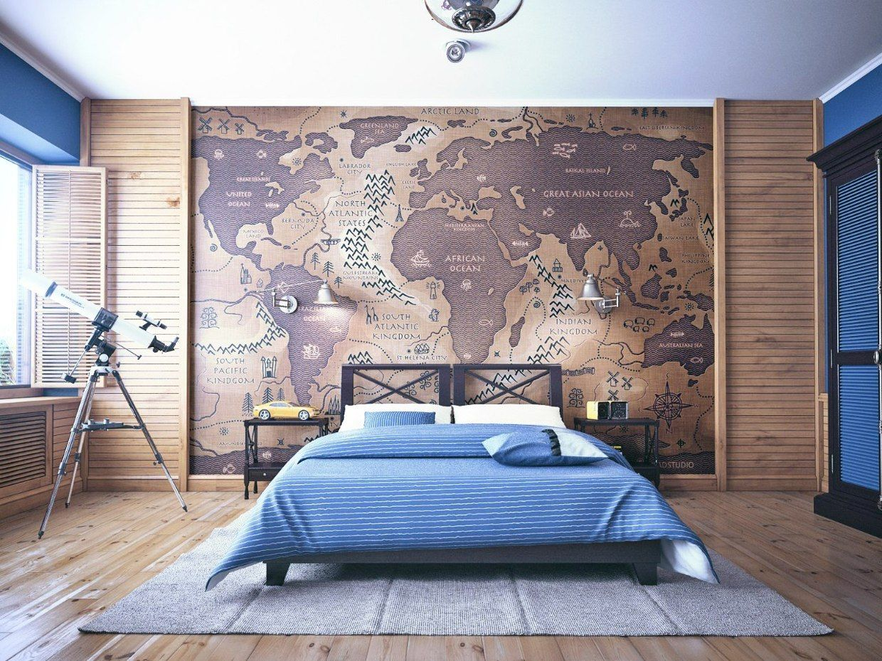 There Are Several Trends Of The Marine Theme In The Interior: