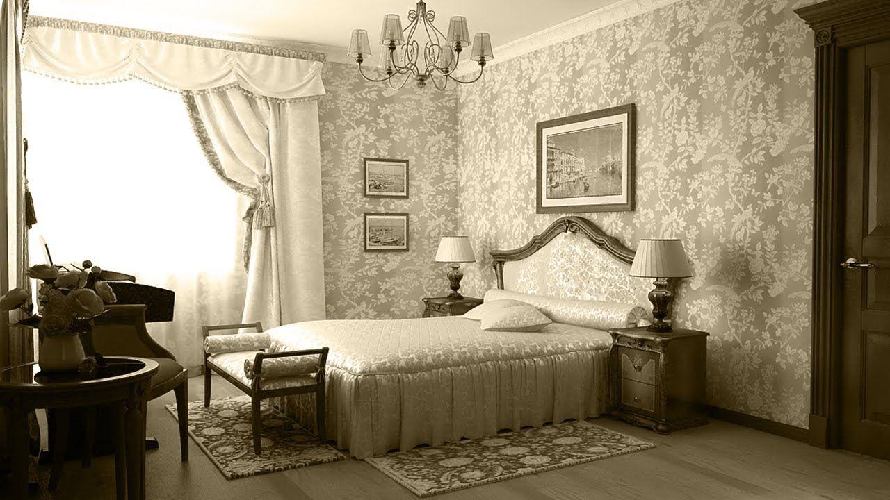 ретро дизайн комнаты картинки этом варианте