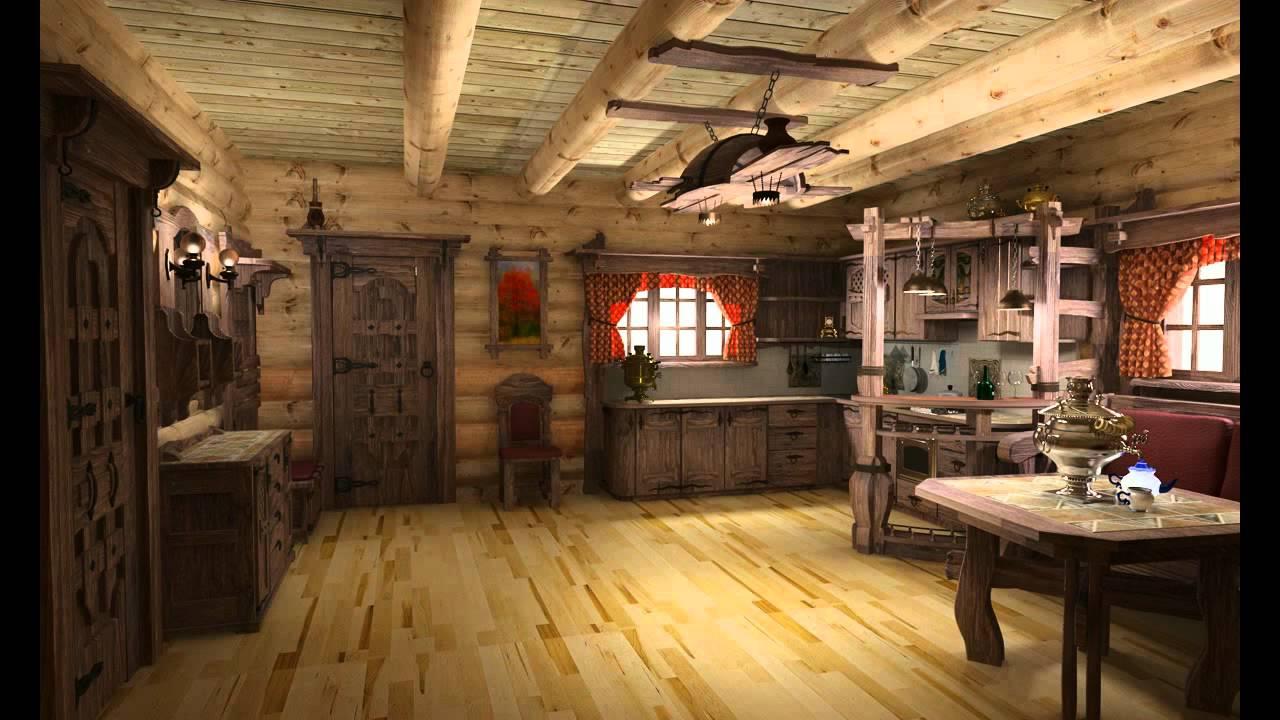 Rustic interior design style for Unique interiors