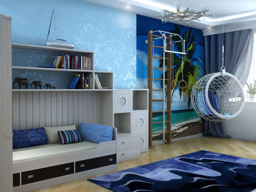 Marine style interior design for Deco turquoise et taupe