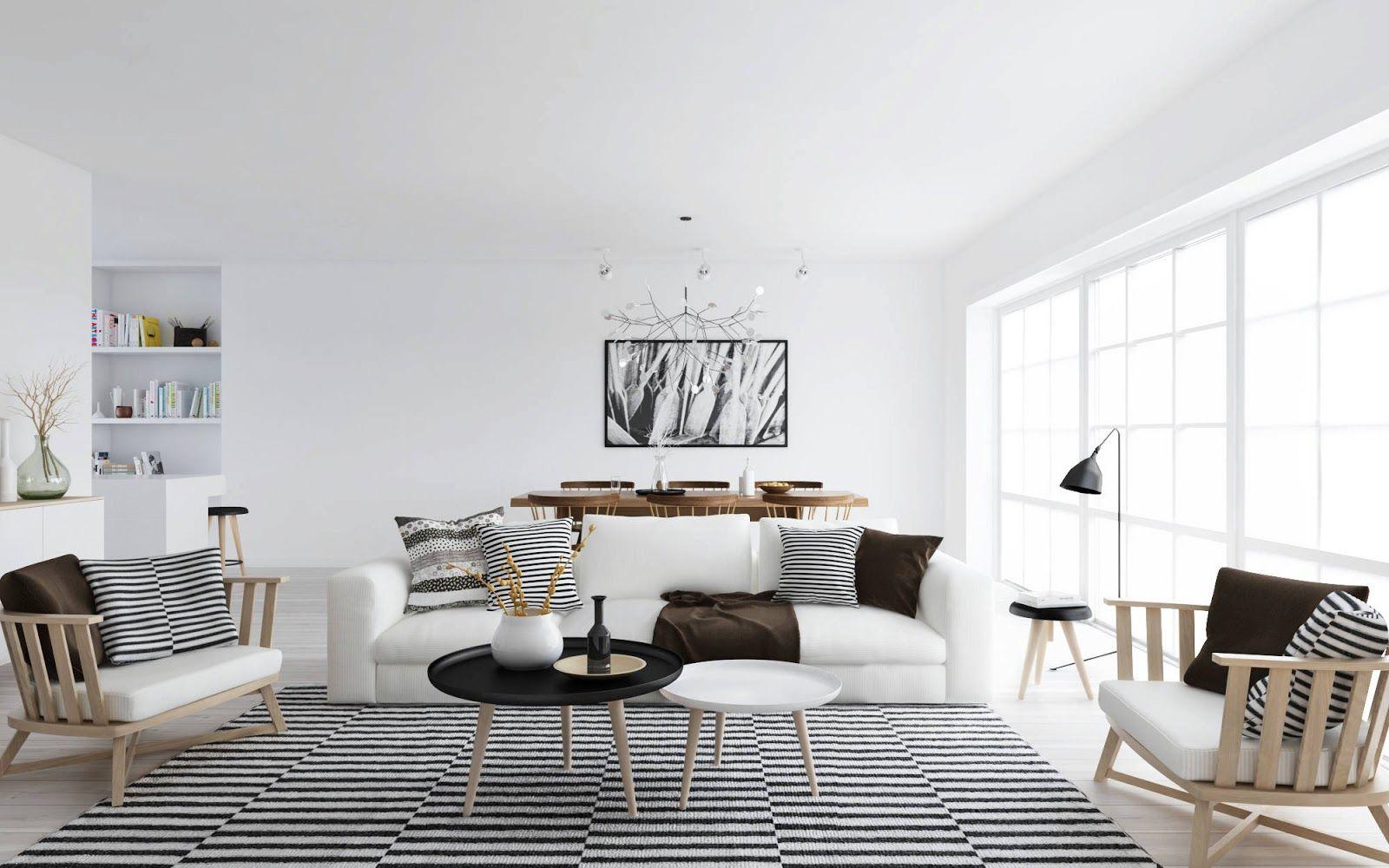 Scandinavian Interior Design Style - Scandinavian living room design