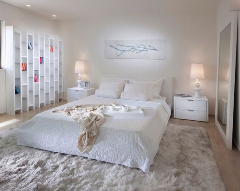 Intimate Bedroom Ideas Part - 31: ... Unique Bed In The Bedroom With Creamy Distractive Elements. A Bedroom  Is So Intimate And