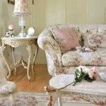 vintage style apartment design ideas for creamy colored living room