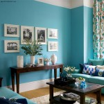 vintage style apartment design ideas for turquoise room